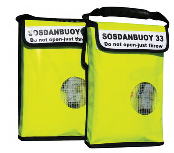 SOS Inflatable Rescue Dan Buoy with Drogue