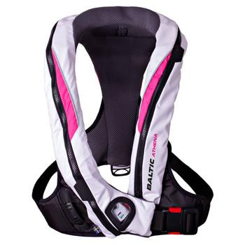 Baltic Athena Women's Auto Lifejacket Pink & White