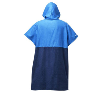 Rooster Microfibre Quick Dry Poncho - back