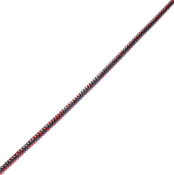 Rooster Halitec Dinghy Halyard Line 4mm (Grey/Red) Per 1m