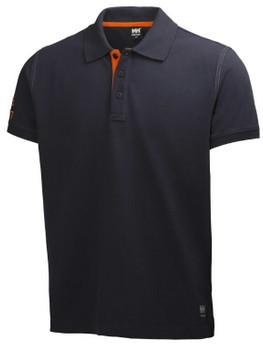 HH Workwear Oxford Polo Shirt - Navy