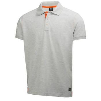 HH Workwear Oxford Polo Shirt - Grey Melange