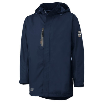 HH Workwear Manchester Shell Coat - Navy