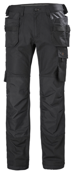 HH Workwear Oxford Construction Pant - Black