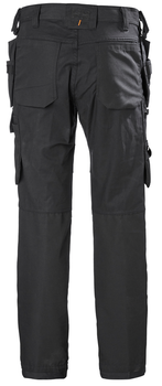 HH Workwear Oxford Construction Pant - Black - back