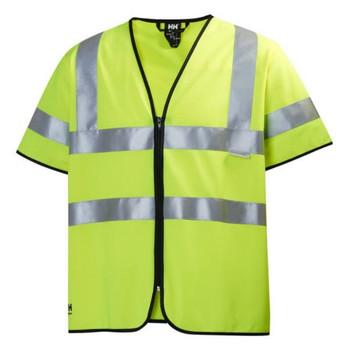 Helly Hansen Addvis Short Sleeve Vest - Yellow