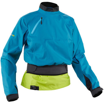 NRS Women's Helium Splash Jacket, Fjord, Front Right