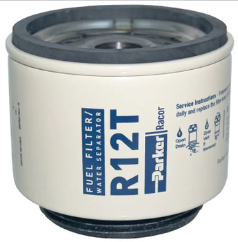 Racor Fuel Filter Element R12T -10 Micron Diesel