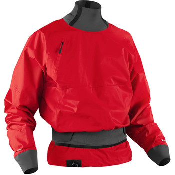 NRS Stratos Paddling Jacket, Front Right, Salsa