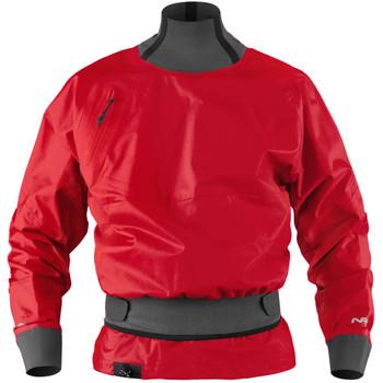NRS Stratos Paddling Jacket, Front, Salsa