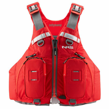 NRS Odyssey PFD - Red, Front