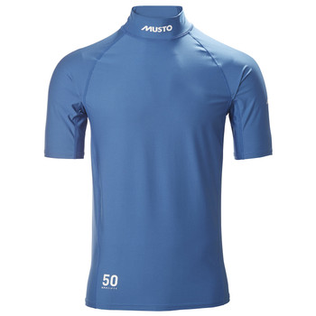 Musto Sunblock Dynamic S/Sleeve Top - Sky diver