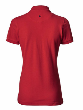 Musto Pique Polo Shirt -True Red- Women