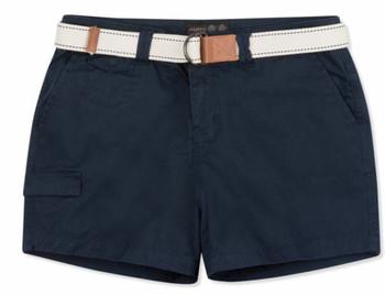 Musto Tack Cotton Short - True Navy - Women