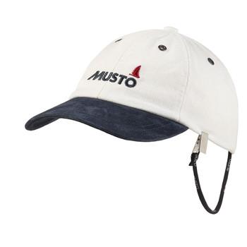 Musto Evolution Original Crew Cap - Antique Sail White