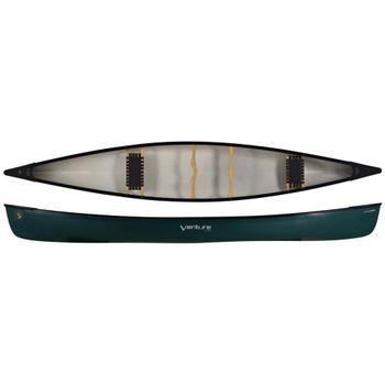 Venture Hunter 176 Canoe, Dark Green, Corelite