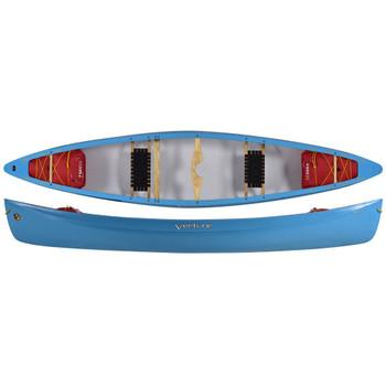 Venture Afon Whitewater CoreLite Canoe - Aqua Blue
