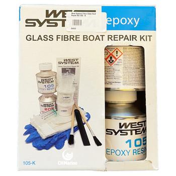 West System Epoxy Fibre Glass Boat Repair Kit 105-K