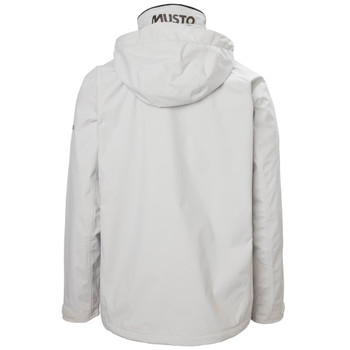 Musto Sardinia BR1 Jacket 2.0 - Men - Platinum back
