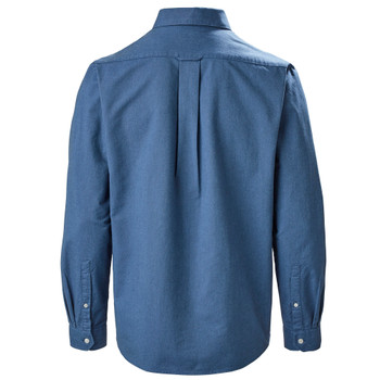 Musto Aiden Oxford L/Sleeve Shirt - Men - Coastal Blue back