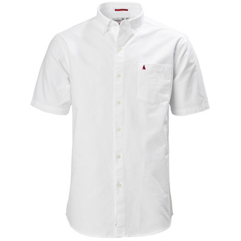 Musto Aiden Oxford Short Sleeve Shirt - White