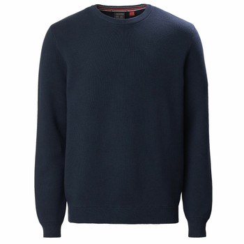 Musto Milano Crew Neck Knit - Navy front