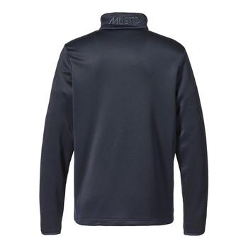 Musto Essential 1/2 zip sweater  - back