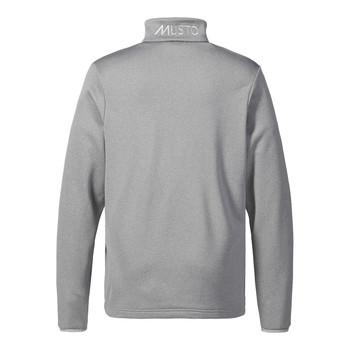 Musto Essential 1/2 zip sweater - Grey Melange back