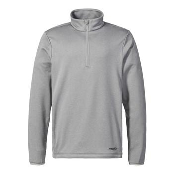 Musto Essential 1/2 zip sweater - Grey Melange front