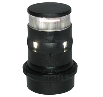 Aqua Signal LED Series 34 Masthead Anchor Navigation Light Black 3858001000