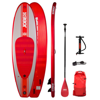 JOBE Desna 10.0 Inflatable SUP Package - RED