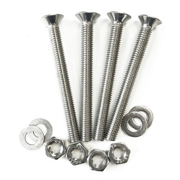 Sowester Countersunk Head A4 Stainless Steel Bolts DIN965