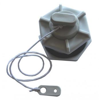 Drain Socket  + Plug for Plastimo Inflatable Tenders - 54787
