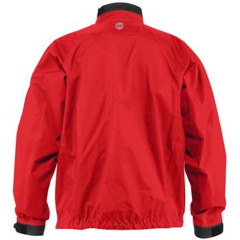 NRS Men's Endurance Splash Jacket - Salsa, Back