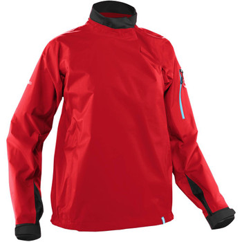 NRS Women's Endurance Splash Jacket - Salsa, Front