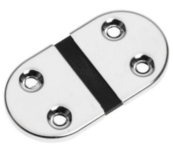 Roca Stainless Steel Hinge with Rubber Joint 73 x 39mm - 441704 Plastimo 63609
