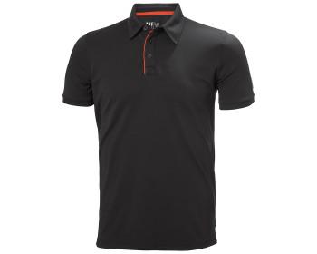 Helly Hansen Kensington Tech Polo Shirt - Black