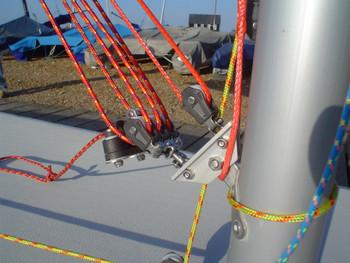 Barton Laser Vang Kicker Assembly 98075