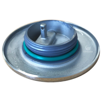 Roca stainless steel filler cap with Handle - Waste Water - thread