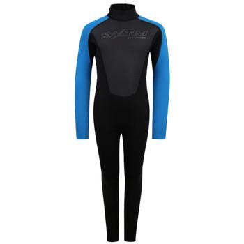 Typhoon Swarm3 Child's Wetsuit in Black/Blue
