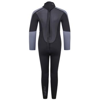 Typhoon Swarm3 Child's Wetsuit in black/graphite - back