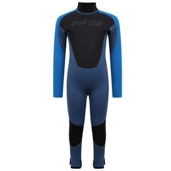 Typhoon Swarm3 Infant's Wetsuit in blue steel/blue