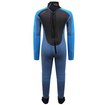 Typhoon Swarm3 Infant's Wetsuit in blue steel/blue - back