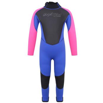Typhoon Swarm3 Infant's wetsuit in purple/hot pink