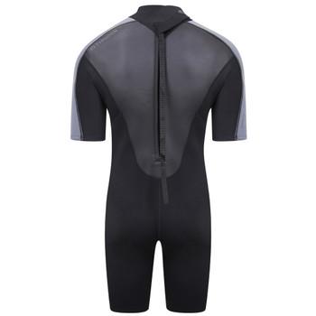 Typhoon Swarm3 Shorty Men's Wetsuit in black/graphite - back