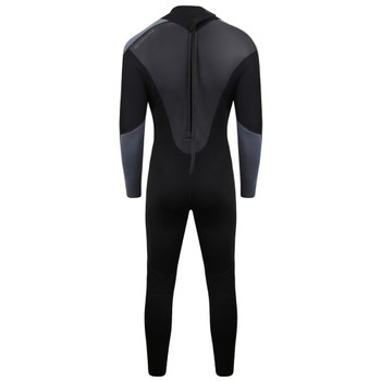 Typhoon Swarm3 Men's Wetsuit in black/graphite - back