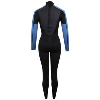 Typhoon Swarm3 Women's Wetsuit in black/blue steel -back