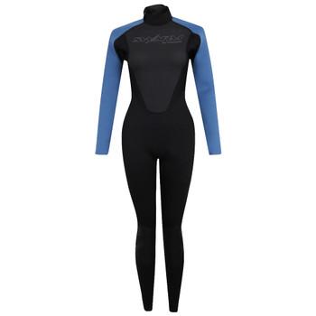 Typhoon Swarm3 Women's Wetsuit in black/blue steel