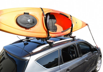 Malone FoldAway-J Kayak Carrier with Tie-Downs
