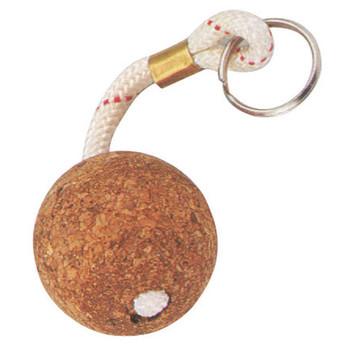 Trem cork floating keyring